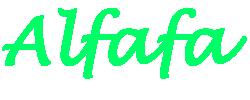 alfafa.com.br Logo